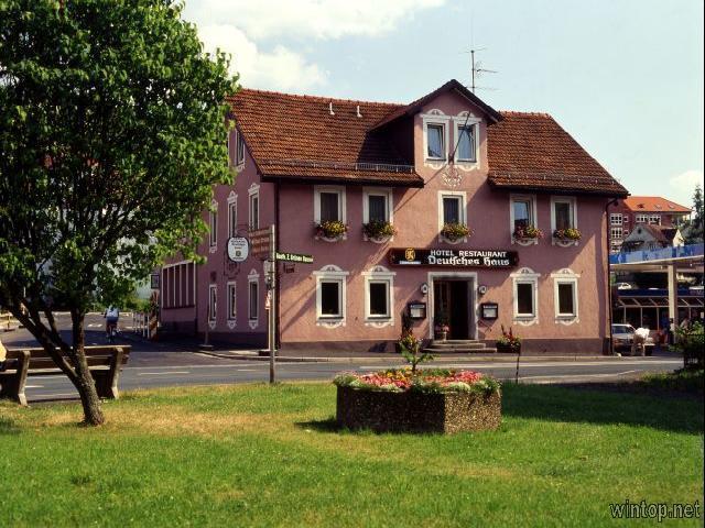 Hotel Deutsches Haus in Bad Brückenau