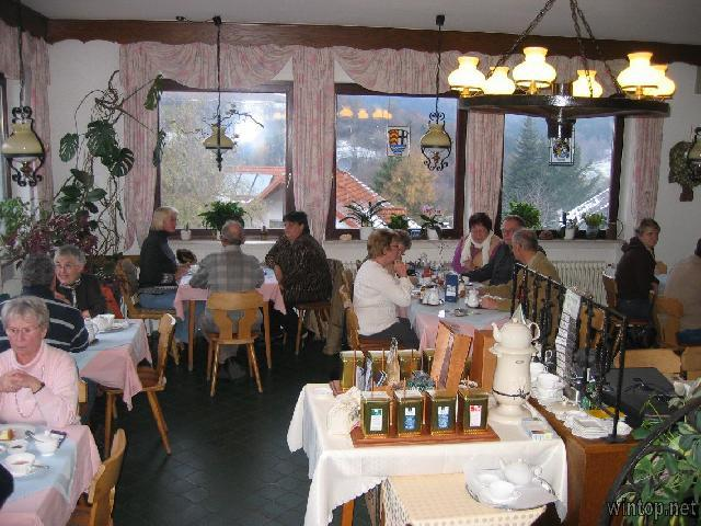 Cafe Pension Sonnenkanzel in Züntersbach/Bad Brückenau