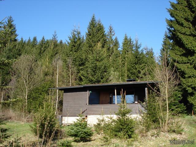 Holzhäuschen Plattenhöhe in Rinchnach