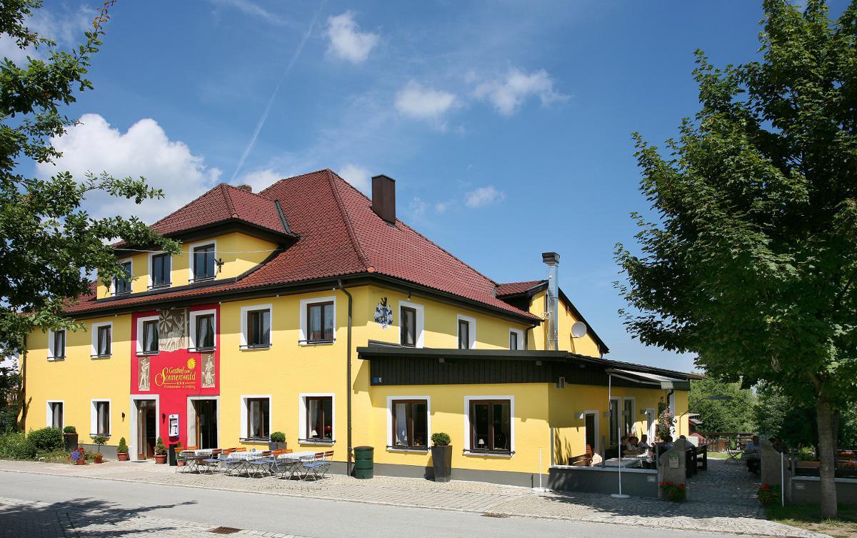 Gasthof zum Sonnenwald in Schöfweg