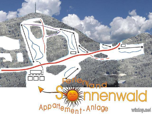Appartement-Anlage Ferienland Sonnenwald in Schöfweg