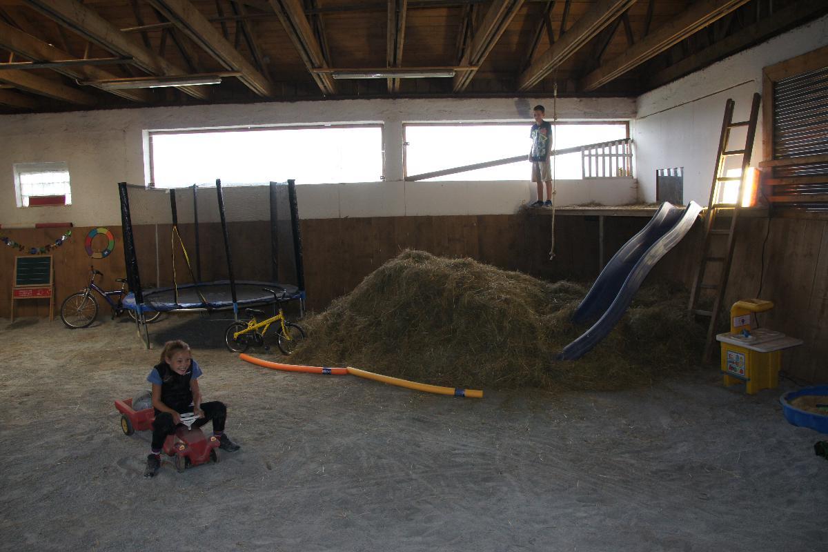 Familienerlebnishof Paster - Ferienwohnung mit Indoor-Spielscheune und Bogenschießanlage in Freyung