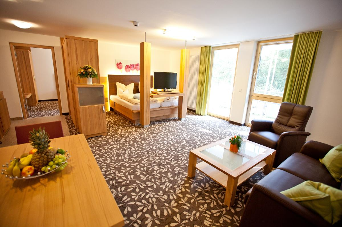 Hotel**** & Appartementhof Waldeck in Bad Füssing