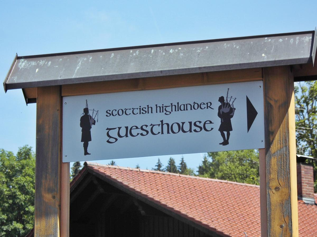 Scottish Highlander Guesthouse in Mauth