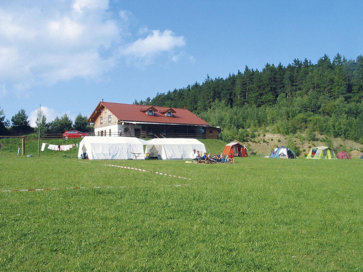 Berghütte und Naturcampingplatz  Binder in Wiesenfelden