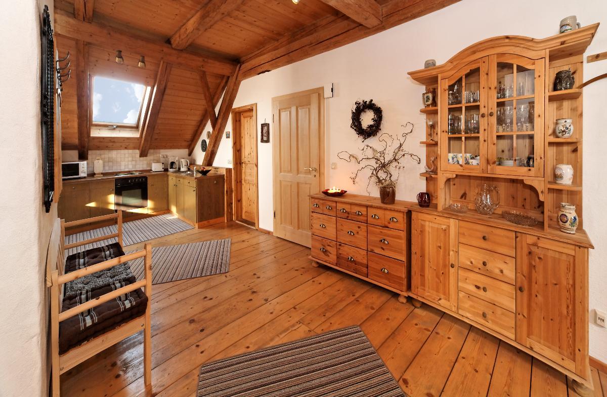 Altes Forsthaus in Riedlhütte