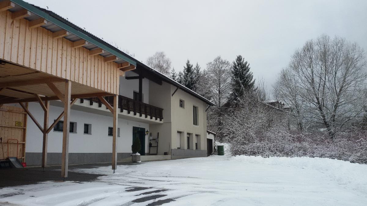 Zur Wanderloipe in Zwiesel
