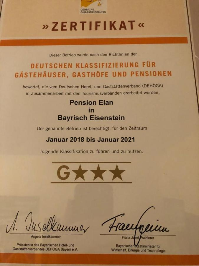 Pension Elan in Bayerisch Eisenstein