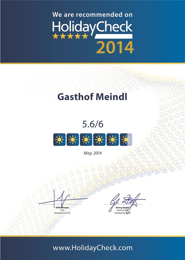 Gasthof-Pension Meindl in Arrach