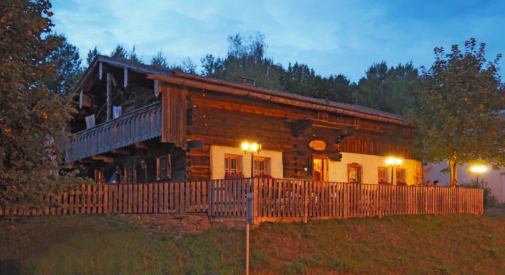 Das Waldlerhaus in Lam