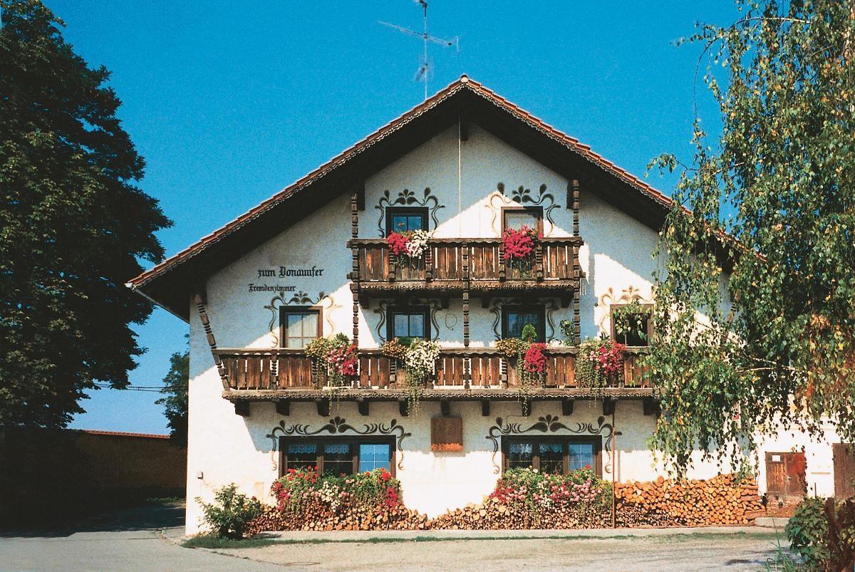 Pension zum Donauufer in Bogen