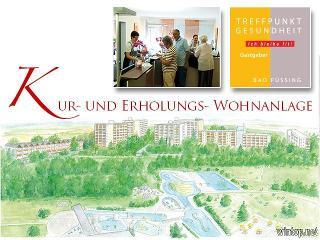 Kur- und Erholungs-Wohnanlage neben dem Johannesbad in Bad Füssing