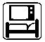 Fernseher im Zimmer