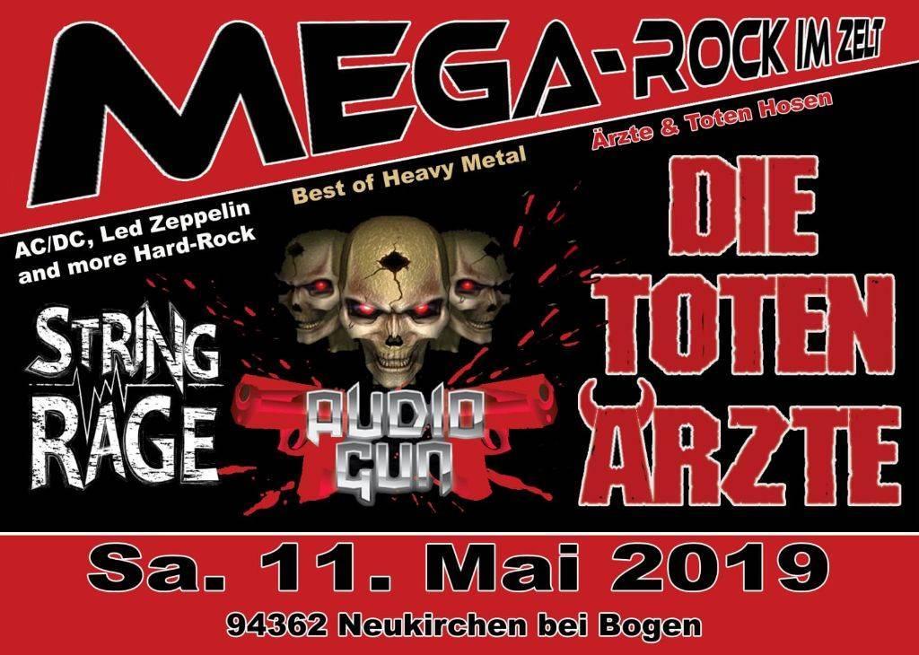 Mega Rock im Zelt - Sensationskonzert - 2020 ABGESAGT!