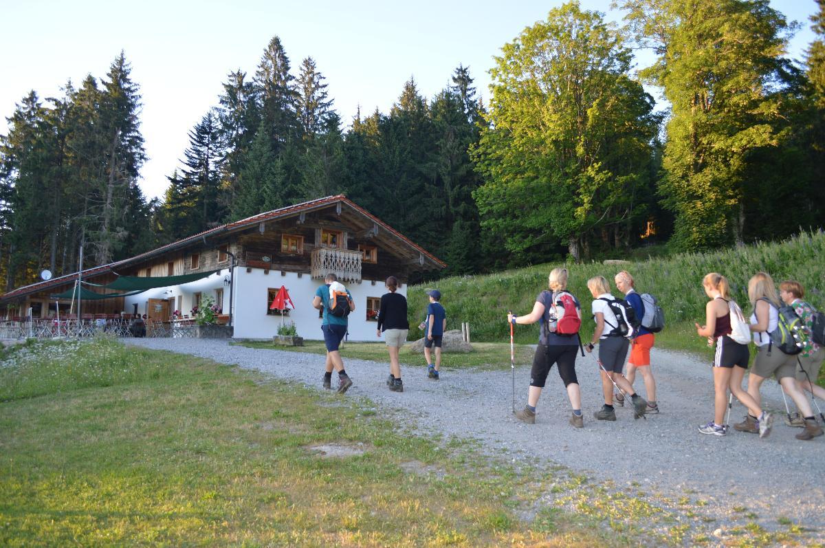 Hüttenwanderung: Goldsteig-Ge(h)nuss