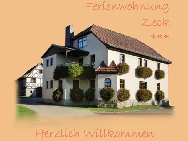 Ferienwohnungen Zeck in Bad Staffelstein OT Stublang
